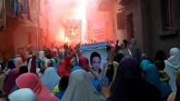 مسيرة حاشدة بكفرالدوار عقب صلاة عيد الأضحى