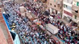 الاخوان المسلمون ينظمون صلاة حاشدة بشارع ٣٠