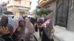 نساء ضد الانقلاب بـ حوش عيسى الاثنين 5 /10