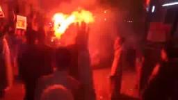 شباب أطفيح ضد الانقلاب يشعل مسيرة البرمبل