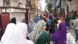 مسيرة مفاجئة بالورديان رغم التضييق الأمني