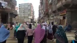 ثوار المنتزة يتحدون الآمن بمسيرة حاشدة