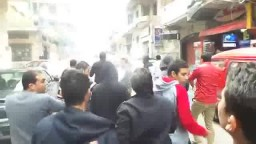 شباب الاسكندرية ينتفضون بمسيرة بكامب شيزار