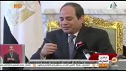 تعليق  ناصر على السيسي : شهداء الجيش والشرطة!!