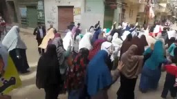 ثوار المنتزة يحتشدون في العوايد- أنقذوا مصر