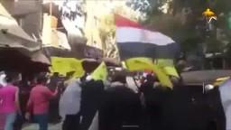 الاسعار بتغلى ليه  سؤال وهتاف من ثوار امبابة