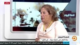 سامية هاريس كيف نعي ما يحدث على أرض سيناء ؟