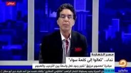 تعليق السفير مرزوق على هجمة إعلام السيسي الشرسة عليه