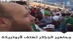 جماهير الجزائر بملعب السويس تهتف للنجم محمد أبوتريكة