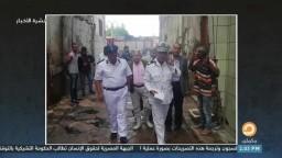 """""""بسبب المطر"""".. مصرع شخص وإصابة 2 آخرين نتيجة إنهيار 14 عقارا بالإسكندرية"""