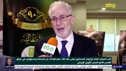 نائب المرشدينفى عقد لقاء جمع قيادات من الجماعة ومسؤولين في فيلق القدس التابع للحرس الثوري الإيراني