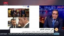 أردوغان يعامل ماكرون باحتقار في اجتماع الناتو.. ما الذي دار بينهما؟