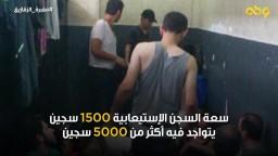 سلخانة سجن الزقازيق العمومي ... إدارة السجن تتبع سياسة التجويع وتقديم الطعام الفاسد للمعتقلين