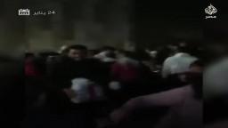 ما لم تذكره وسائل الإعلام.. تدافع من أجل الطعام بحفل استاد القاهرة الداعم للجيش والشرطة