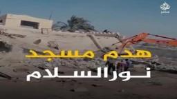 هدم مسجد نور الإسلام بالإسكندرية ينضم لـ10 قبله