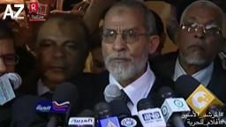 المرشد الأسير - فوز د. بديع  بمنصب المرشد العام الثامن