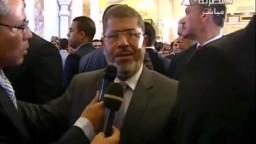تهنئة الرئيس الشهيد محمد مرسي للمصريين في عيد الأضحي