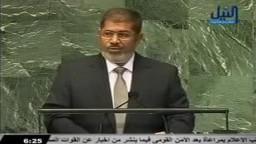 الرئيس مرسي : نعادي من يعادي رسولنا و نحترم من يحترمه