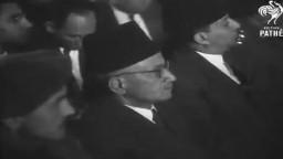 فيديو نادر لفضيلة المرشد الثاني للإخوان المستشار حسن الهضيبي