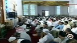 كلمة الشيخ يوسف القرضاوي عن وفاة مرشد جماعة الإخوان المسلمين الأستاذ المامون الهضيبي