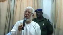 """زيارة الاستاذ جمعة أمين """"رحمه الله""""  لولاية ومفرا بنيجيريا"""