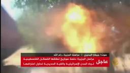 كتائب القسام تبث صورا جديدة تظهر إطلاق صواريخ من قطاع غزة
