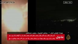 كتائب القسام: قصفنا قاعدة حتساريم الجوية الإسرائيلية