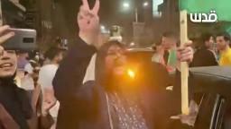 مسيرات وفرحة عارمة تعم قطاع غزة بعد انتصار المقاومة وخنوع الجيش الصهيوني