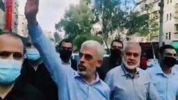 أول ظهور علني لرئيس حركة حماس في قطاع غزة يحيى السنوار بعد الهدنة