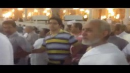 """فضيلة المرشد العام """" فك الله اسره"""" في رحلة الحج 2012"""