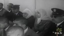 فيديو نادر جدا- محاكمة زينب الغزالي، حميدة قطب.. 1966