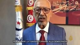 الغنوشي: سندعو الشارع للدفاع عن ديمقراطيته ورفع الأقفال عن البرلمان