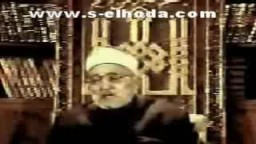 الشيخ محمد الغزالى ..دخول الجنة بالفضل ...والعمل الصالح مطلوب