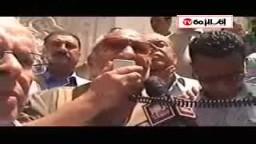 كلمة المستشار الخضيري بوقفة القائد إبراهيم للمطالبة بالقصاص لشهيد الطوارئ
