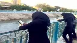 وقفة بالملابس السوداء بالاسماعيلية تضامنا مع خالد سعيد