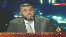 لقطات من حوار خيرت الشاطرفى برنامج بلا حدود مع احمد منصور