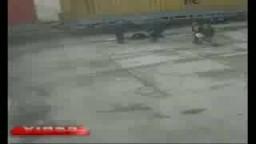 اخطر حادث قطار وشاحنة وشخص