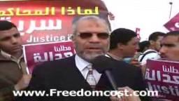 لقاء مع الدكتور محمود غزلان قبل اعتقالة بايام