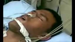 احمد صابر قتيل قسم العمرانية قبل وفاته