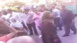 مظاهرة الإخوان أمام محكمة الحقانية بالإسكندرية  بسب منع مرشحى الإسكندرية من تقديم الأوراق