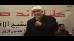 استقبال الشيخ رائد صلاح لضيوفه ولوجهاء قرية العيساوية