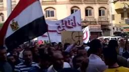 صعيد مصر متضامنون مع الصامدون في ميدان التحرير