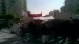 مظاهرة لقبائل وبدو مطروح في مصر تطالب برحيل أحمد قذاف الدم