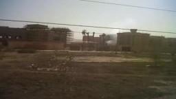 حرق مقر امن الدولة بمدينة 6 اكتوبر