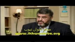 لقاء المهندس خيرت الشاطر نائب المرشد العام فى العاشرة مساء بعد الإفراج عنه .. 5