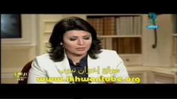 لقاء المهندس خيرت الشاطر نائب المرشد العام فى العاشرة مساء بعد الإفراج عنه .. 8