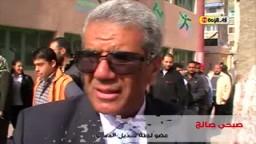 الأستاذ صبحي صالح أثناء المشاركة فى  الإستفتاء على التعديلات الدستورية