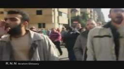 اللحظات الأولى لانطلاق ثورة 25 يناير