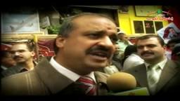 لقاء مع الدكتور البلتاجى والدكتور صفوت حجازى بميدان التحرير فى جمعة التطهير والمحاكمة