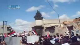 مظاهرات  السلمية  فى سوريا - الجمعة العظيمة 22-4 ج2